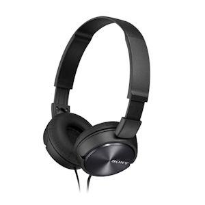 Sony ZX On Ear Headphones Black