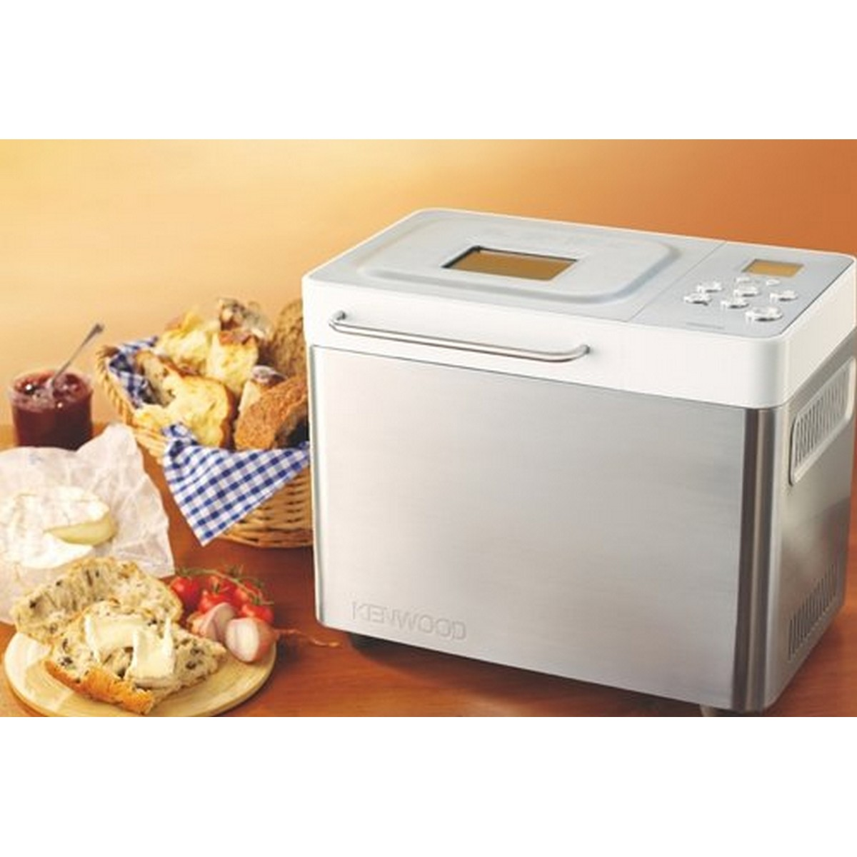 Kenwood Stainless Steel Breadmaker