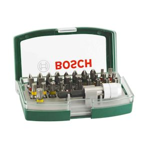 Bosch 32 Piece Screwdriver Bit Set